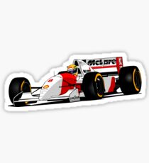 Formula 1 - Ayrton Senna - McLaren  Sticker