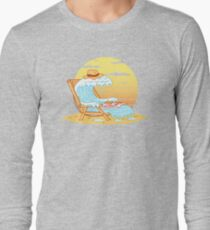 WAVE ON THE BEACH Long Sleeve T-Shirt