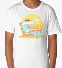 WAVE ON THE BEACH Long T-Shirt