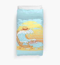 WAVE ON THE BEACH Duvet Cover