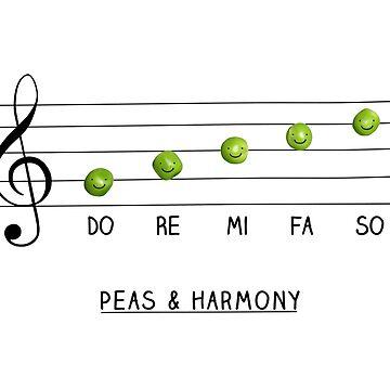 Peas & Harmony by Milkyprint