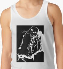 Black and White Abstract Tank Top