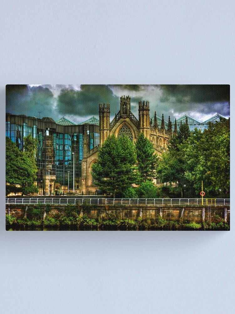 Alternate view of Juxtaposition Canvas Print