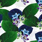 Flower Leaf Pattern 7 by hutofdesigns