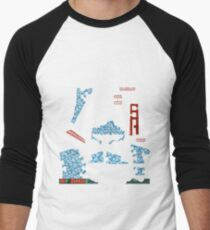 Snowmageddon - ohms' Custom Worms Armageddon Level Men's Baseball ¾ T-Shirt