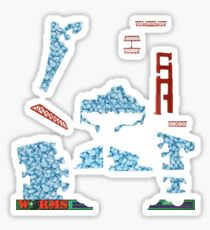 Snowmageddon - ohms' Custom Worms Armageddon Level Sticker