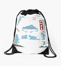 Snowmageddon - ohms' Custom Worms Armageddon Level Drawstring Bag