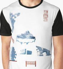 White Islands - ohms' Custom Worms Armageddon Level Graphic T-Shirt