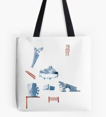 White Islands - ohms' Custom Worms Armageddon Level Tote Bag