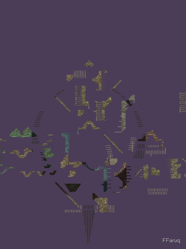 Ziggurat Vertigo Megamap - ohms' Custom Worms Armageddon Level by FFaruq