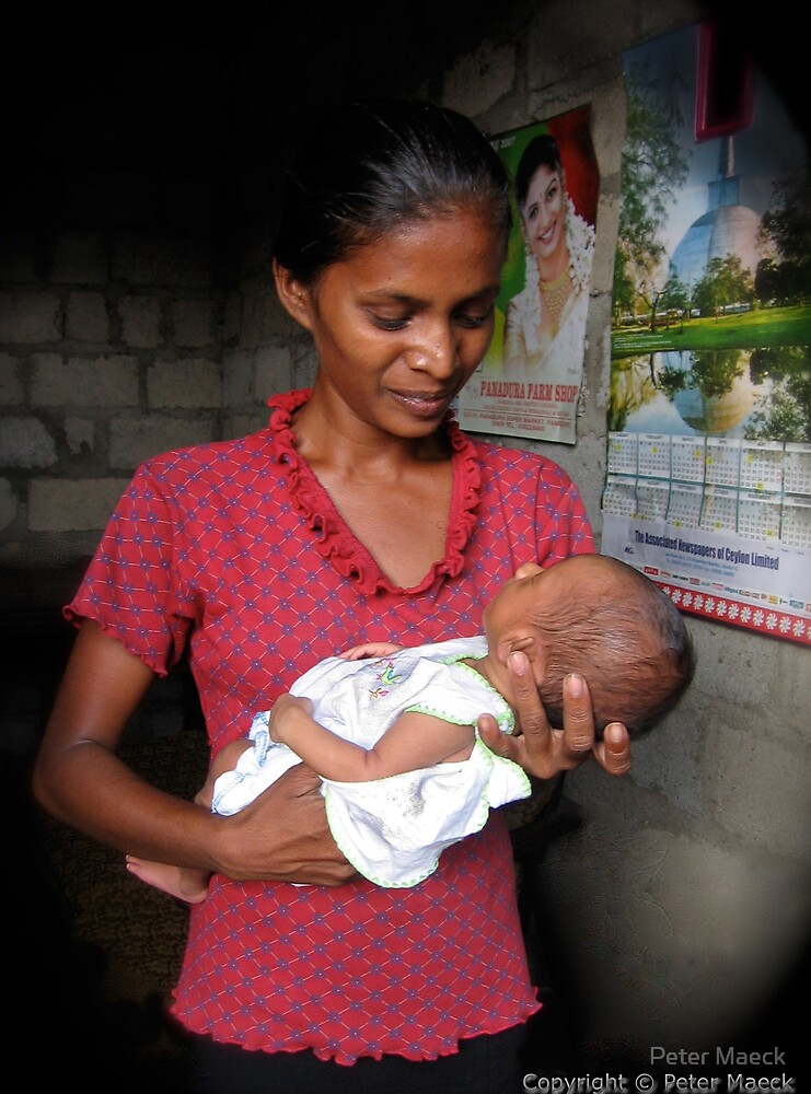 Sri Lanka Tsunami Survivors 4 by Peter Maeck