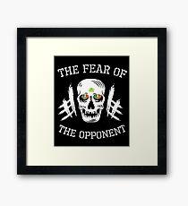 Irish MMA Ireland - Fear of the opponent  Framed Print