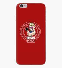 I love MMA Mixed Martial Arts iPhone Case