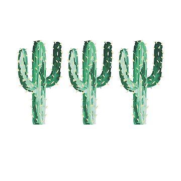 cactus x 3 by efara1