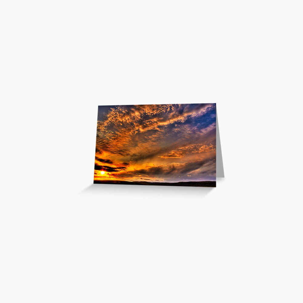 Campsie Fire Greeting Card