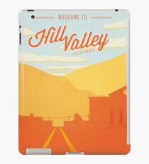 Back to the Future - Welcome To Hill Valley  iPad Case/Skin