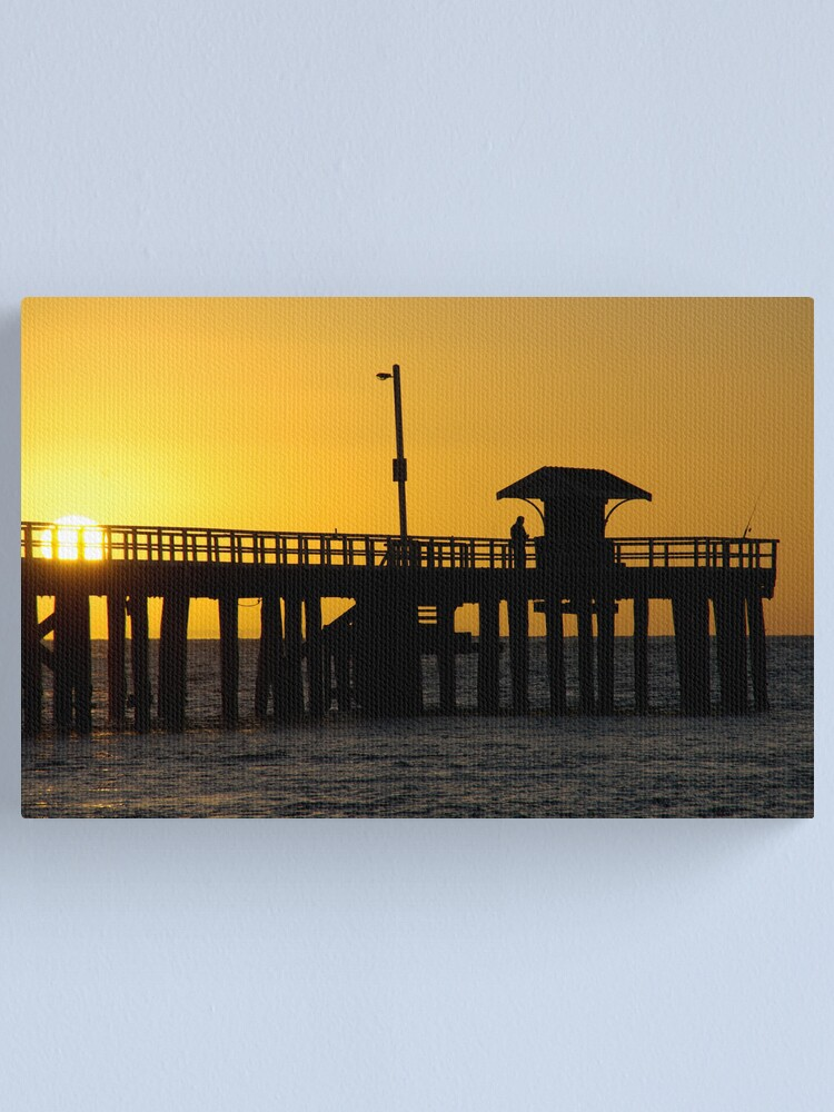 Alternate view of Fishermans Rise Canvas Print