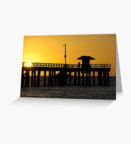Fishermans Rise Greeting Card