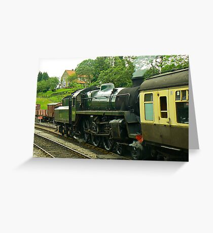 North Yorks Rail - Goathland Greeting Card