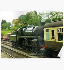 North Yorks Rail - Goathland Poster