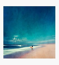 Summer Days - Going Surfing Photographic Print