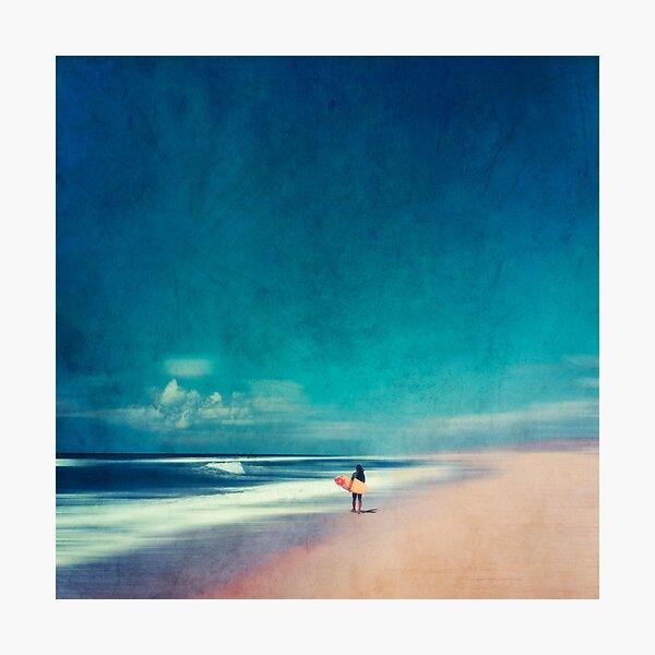 Summer Days - Going Surfing Photographic Print