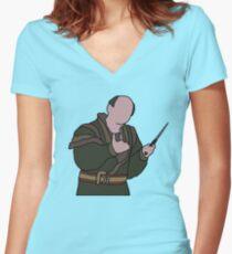 Vizzini - The Princess Bride Women's Fitted V-Neck T-Shirt