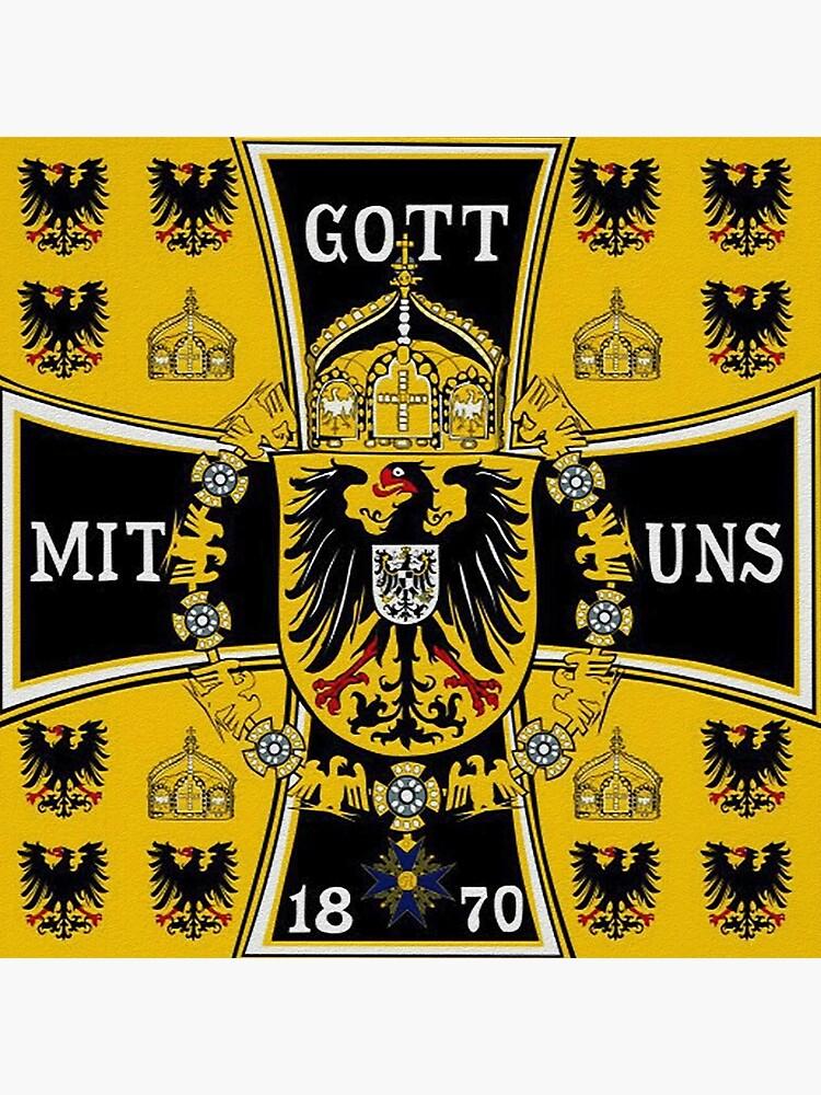 Prussian Battle Flag of 1870  by edsimoneit