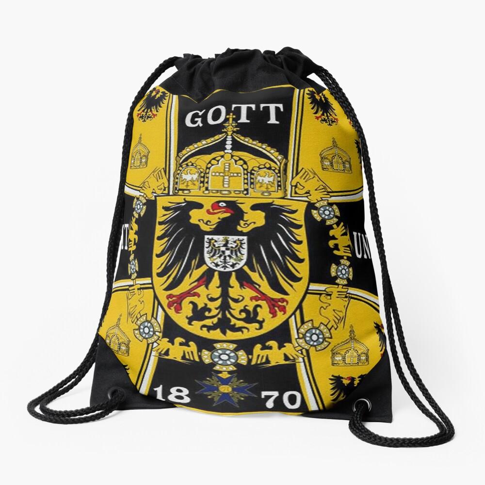Prussian Battle Flag of 1870  Drawstring Bag