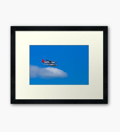 See Sea Plane - Sydney - Australia Framed Print