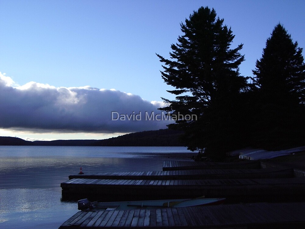 Daybreak On The Jetty by David McMahon