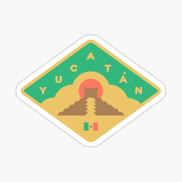 Yucatan - Mexico - badge Sticker