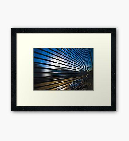 Grid 4 Framed Print