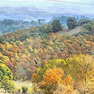 Tuscany in Fall by ShannathShima