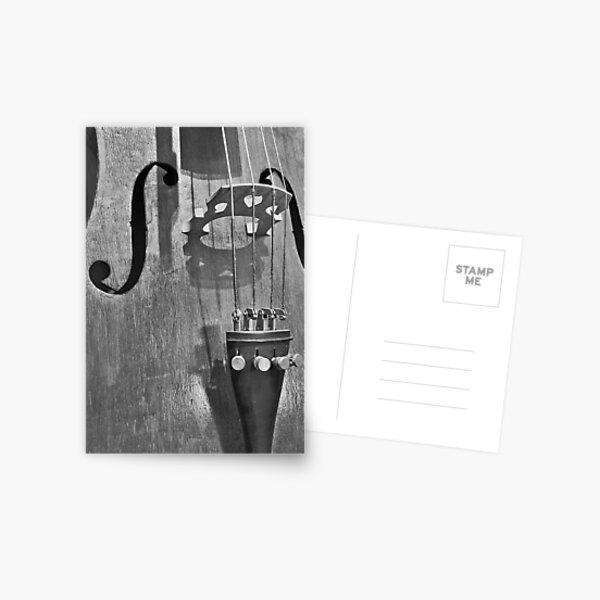 The Infernal Cello. Postcard