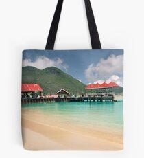 St. Maarten, harbor view Tote Bag