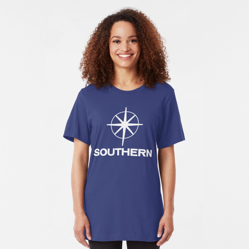 Southern Television, ITV regional logo Slim Fit T-Shirt