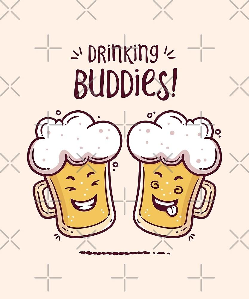 Drinking Buddies - Beer Lovers by zoljo