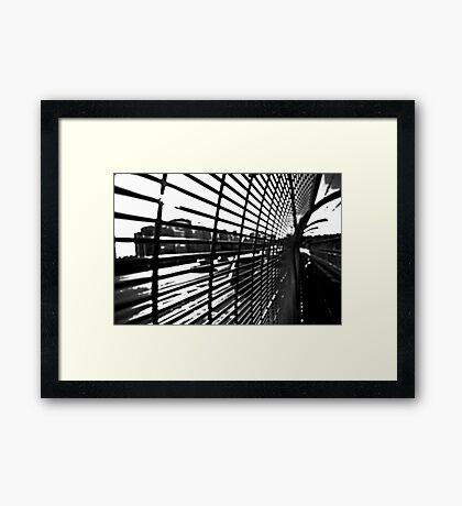 Grid 1 Framed Print