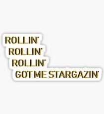 Sternenhimmel Astroworld Sticker