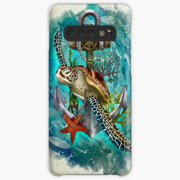 Turtle and Sea Samsung Galaxy Snap Case