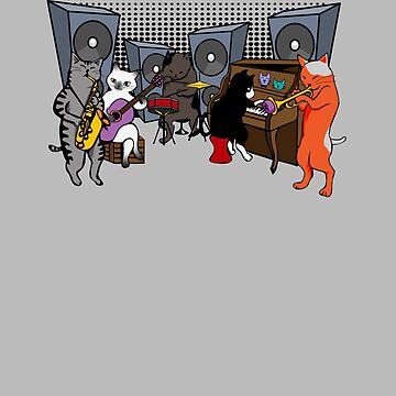 Cool Cat Jazz Band  by apstephens