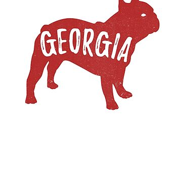 Red Bulldog Football Georgia  by gmgame
