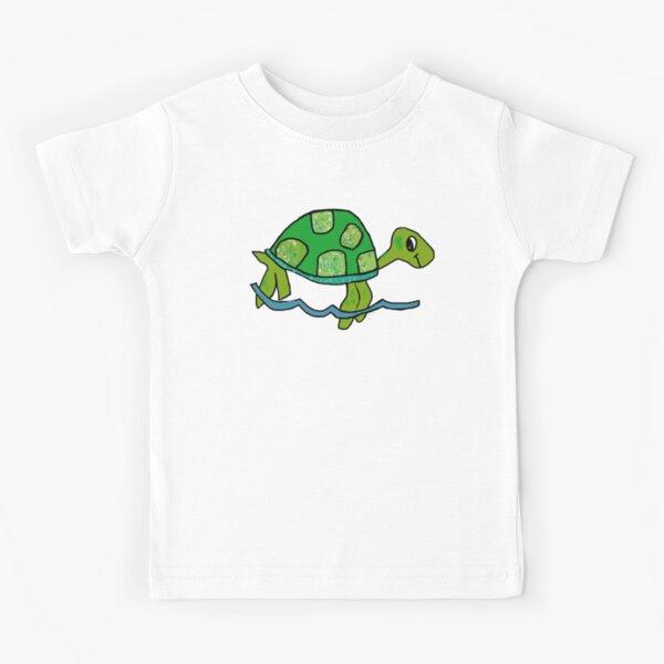 Green Turtle Kids T-Shirt