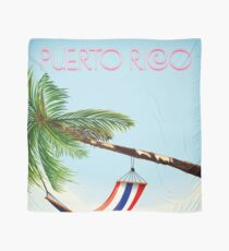 puerto rico hammock beach poster Scarf