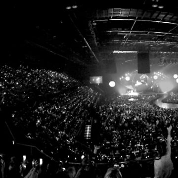 Concert Crowd Panorama by TheTimekeeper