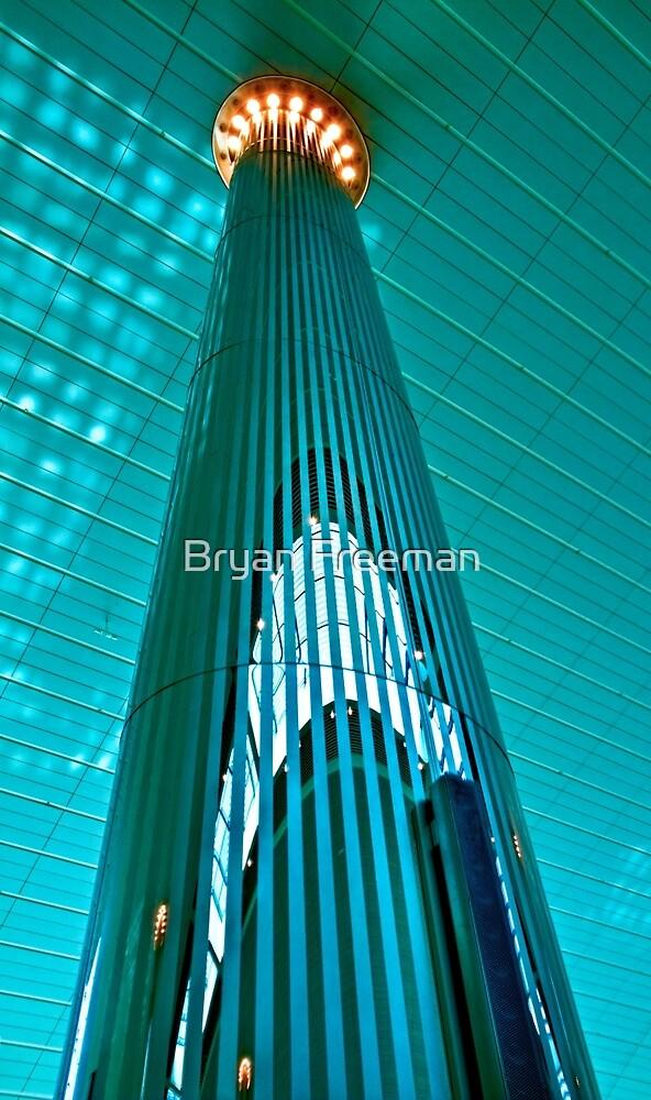 Up Dubai International Airport by Bryan Freeman