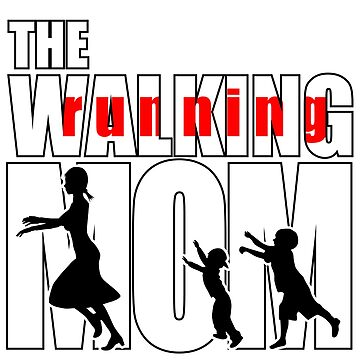 Walking (running) Mom - just away from the kids by Mahkor