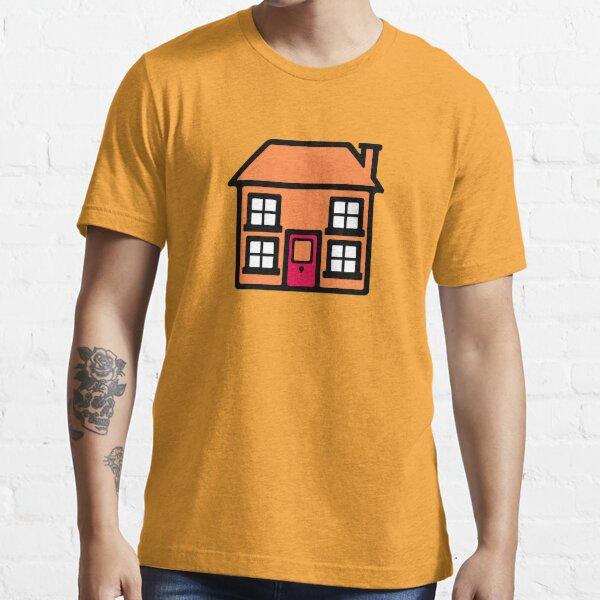 Retro TV Play School house logo graphic Essential T-Shirt