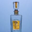Vintage Whiskey Bottle by Jim Haley